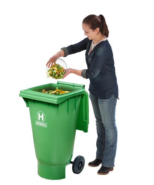 Waste Bins With Spherical Base
